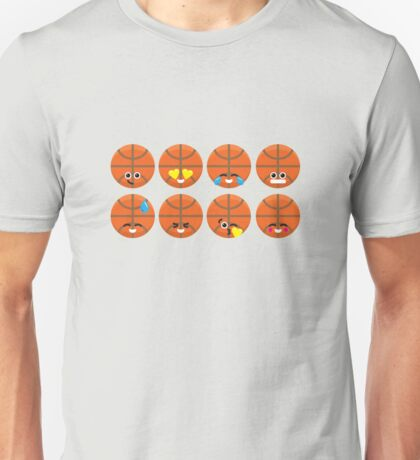 Emoji Building - Basketball Unisex T-Shirt