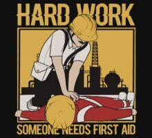 Hard Work First Aid Kids Tee