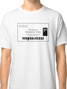 Doctor's Card Classic T-Shirt