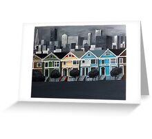 San Francisco - Painted Ladies Greeting Card