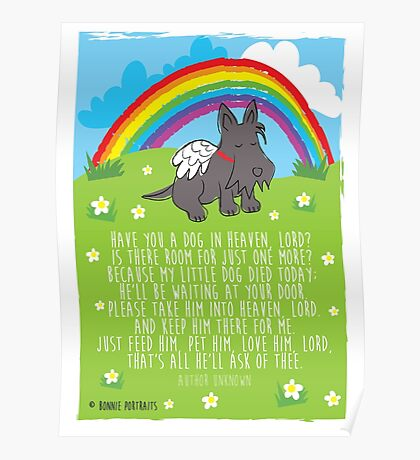 Have you a dog in heaven, Lord? Poster