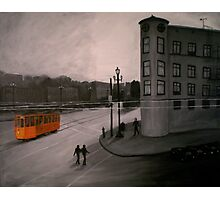 San Francisco - Orange Trolley Photographic Print