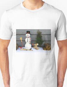 Seasons Greeting Decoration Unisex T-Shirt