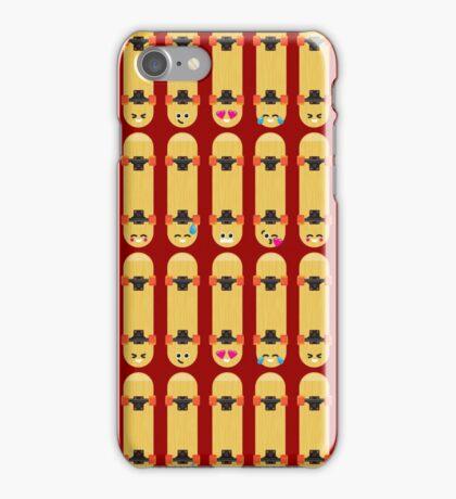 Emoji Building - Skateboards iPhone Case/Skin