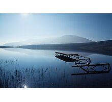 Blue Lake Photographic Print