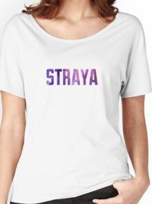 Straya Nebula (purple) Women's Relaxed Fit T-Shirt