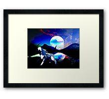 Mysical Absol Framed Print