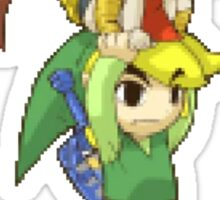 Windwaker - Link and Medli Sticker Sticker