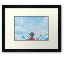 Paper Sky (Only 50!) Framed Print