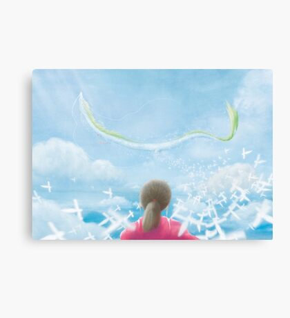 Paper Sky (Only 50!) Canvas Print