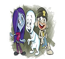 casper  group cartoon Photographic Print
