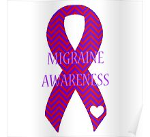 Migraine - Chevron Poster