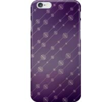 Modern texture. Abstract background with beads. Graphic linear waves iPhone Case/Skin