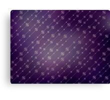 Modern texture. Abstract background with beads. Graphic linear waves Canvas Print