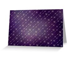 Modern texture. Abstract background with beads. Graphic linear waves Greeting Card