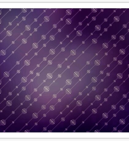 Modern texture. Abstract background with beads. Graphic linear waves Sticker