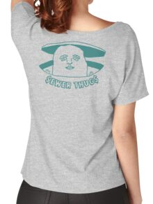 The Sewer Thug (Green) Women's Relaxed Fit T-Shirt