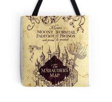 The Marauders Map Tote Bag