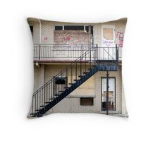 Abandoned motel 1 Throw Pillow