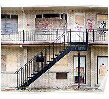 Abandoned motel 1 Poster
