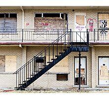 Abandoned motel 1 Photographic Print