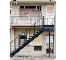 Abandoned motel 1 iPad Case/Skin