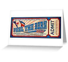 Put Bernie on the Ticket!  Greeting Card