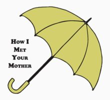 How I Met Your Mother- Yellow Umbrella Kids Tee