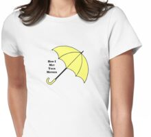 How I Met Your Mother- Yellow Umbrella Womens Fitted T-Shirt
