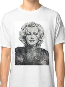 Newspaper Print of Marilyn Monroe Classic T-Shirt