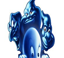 casper  group cartoon 2 Photographic Print