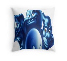 casper  group cartoon 2 Throw Pillow