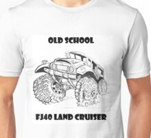 Old School FJ40 Land Cruiser Unisex T-Shirt