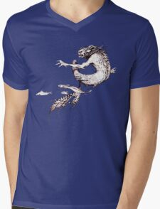Fantasy Naga from Faeries Mens V-Neck T-Shirt