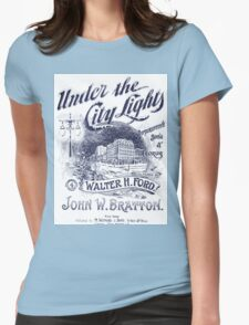 Under The City Lights Womens Fitted T-Shirt
