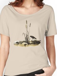 Fantasy Horse and Crow from Faeries Women's Relaxed Fit T-Shirt