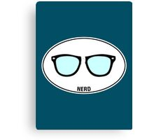 NERD - Euro Sticker Canvas Print