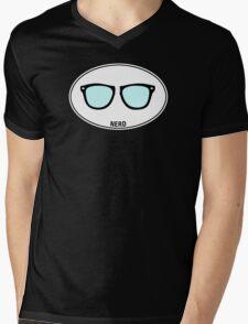 NERD - Euro Sticker Mens V-Neck T-Shirt