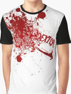 Dexter blood spatter Graphic T-Shirt