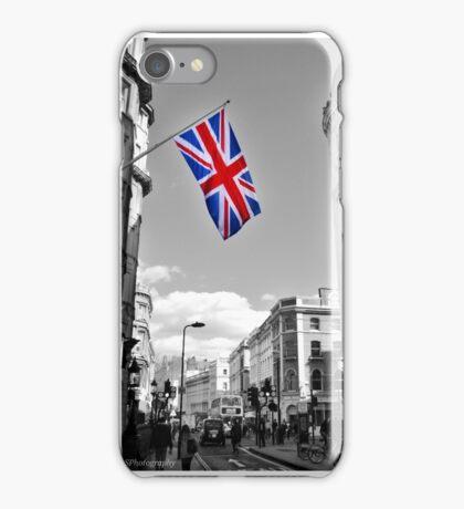 Union Jack: London iPhone Case/Skin