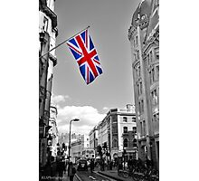 Union Jack: London Photographic Print