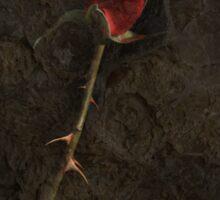 Blood Rose 2 Sticker