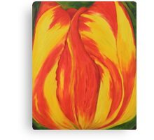 Red & Yellow Tulip Canvas Print