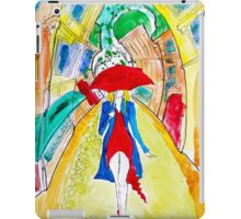 Abstract Woman in Red iPad Case/Skin