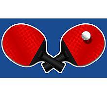 Table Tennis Rocks! Photographic Print
