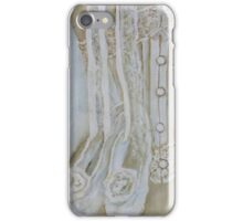 White corset iPhone Case/Skin