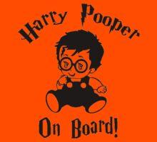 Harry Pooper On Board Kids Tee