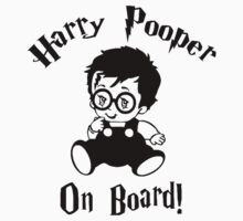 Harry Pooper On Board One Piece - Short Sleeve