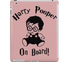 Harry Pooper On Board iPad Case/Skin