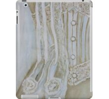 White corset iPad Case/Skin